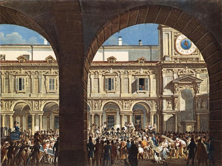 Piazza mercanti 1814