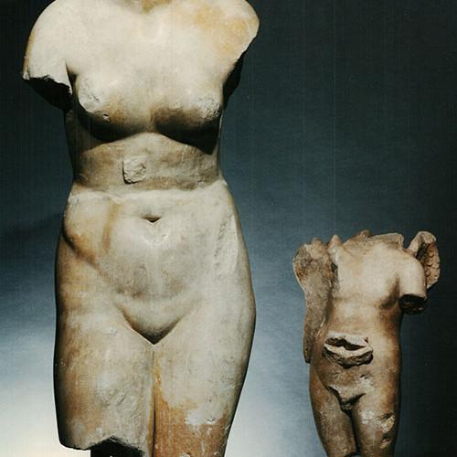 Afrodite ed Eros con delfino, Civico Museo Archeologico di Milano